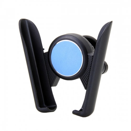 Universal Car Air Vent Mount Phone Holder Stand, Clip Width: 6-8.5cm, For iPhone, Galaxy, Sony, Lenovo, HTC, Huawei and other Smartphones (Blue)