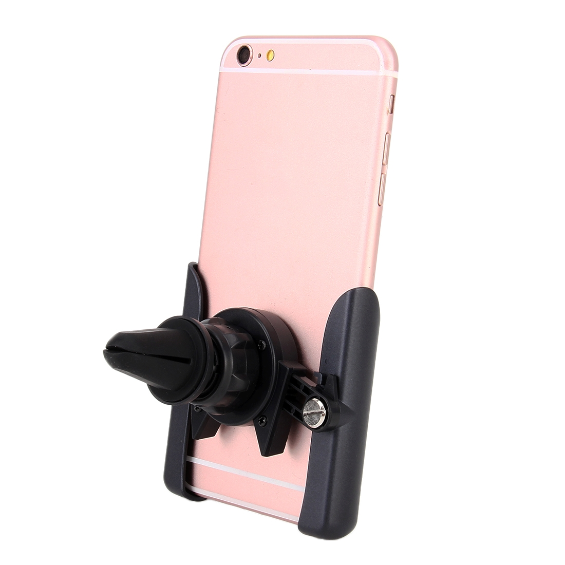 Universal Car Air Vent Mount Phone Holder Stand, Clip Width: 6-8.5cm, For iPhone, Galaxy, Sony, Lenovo, HTC, Huawei and other Smartphones (Red)