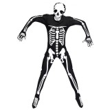 Halloween Costume Men Skeleton Jumpsuit Cosplay Clothing, Size:XL, Bust:98cm, Waistline:93cm, Total Length:181cm, Suggested Height:172~185cm