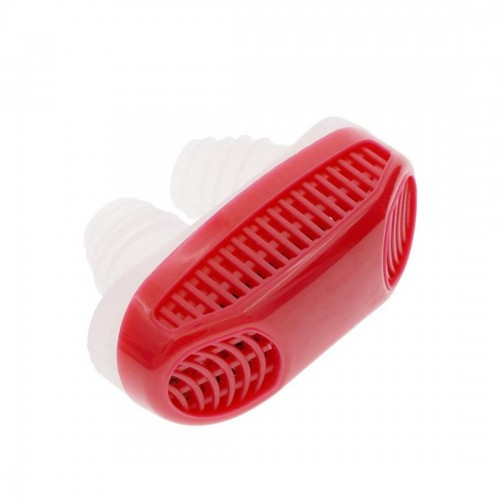 2 in 1 ABS Silicone Anti Snoring Air Purifier (Red)