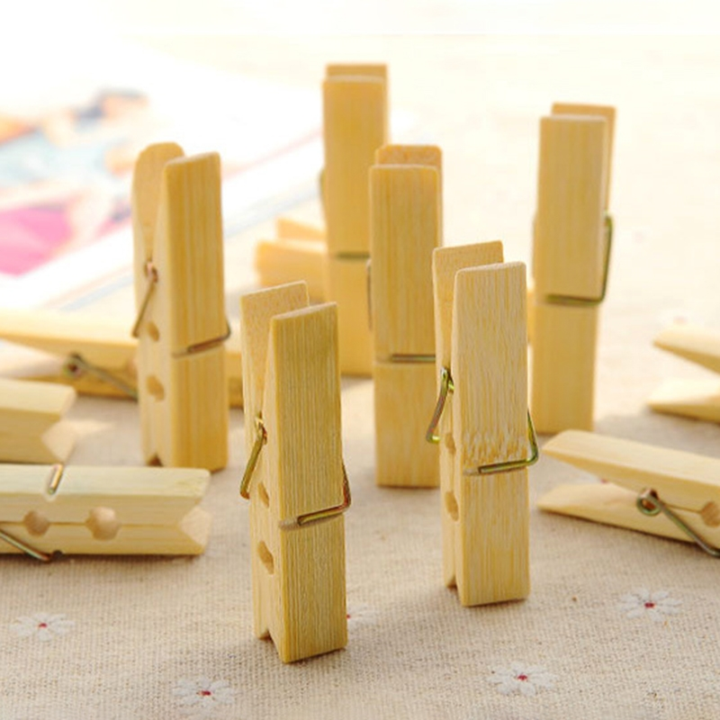 Japanese Doll Wooden Clip DIY Clothes Photo Paper Clothespin Cards Craft Clips