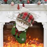 Christmas Ornament Decoration Santa Claus Christmas Stocking Gift Bag Pendant