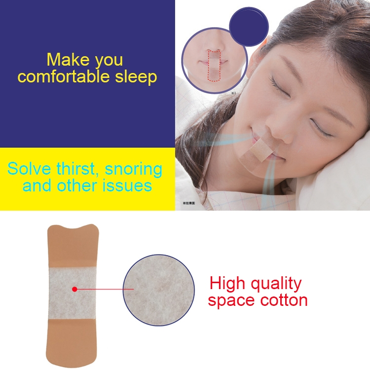 5 Packages Sleep Night Snoring Prevention Dream Talk/ Snoring/ Nose and Lip Sticker 36 Pieces