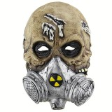 Halloween Festival Party Latex Biochemical Gas Mask Skeleton Frightened Mask Headgear