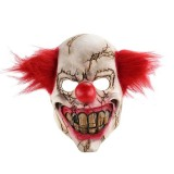 Halloween Festival Party Latex Bald Clown Frightened Mask