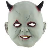 Halloween Festival Party Latex Devil Vampire Frightened Mask Headgear