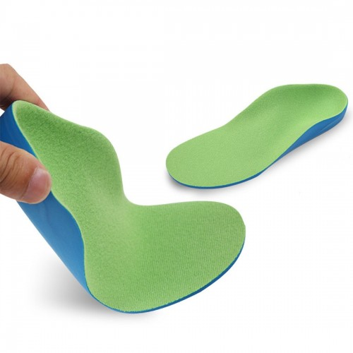 Children PU XO Leg Corrective Insole, Size: 15cm