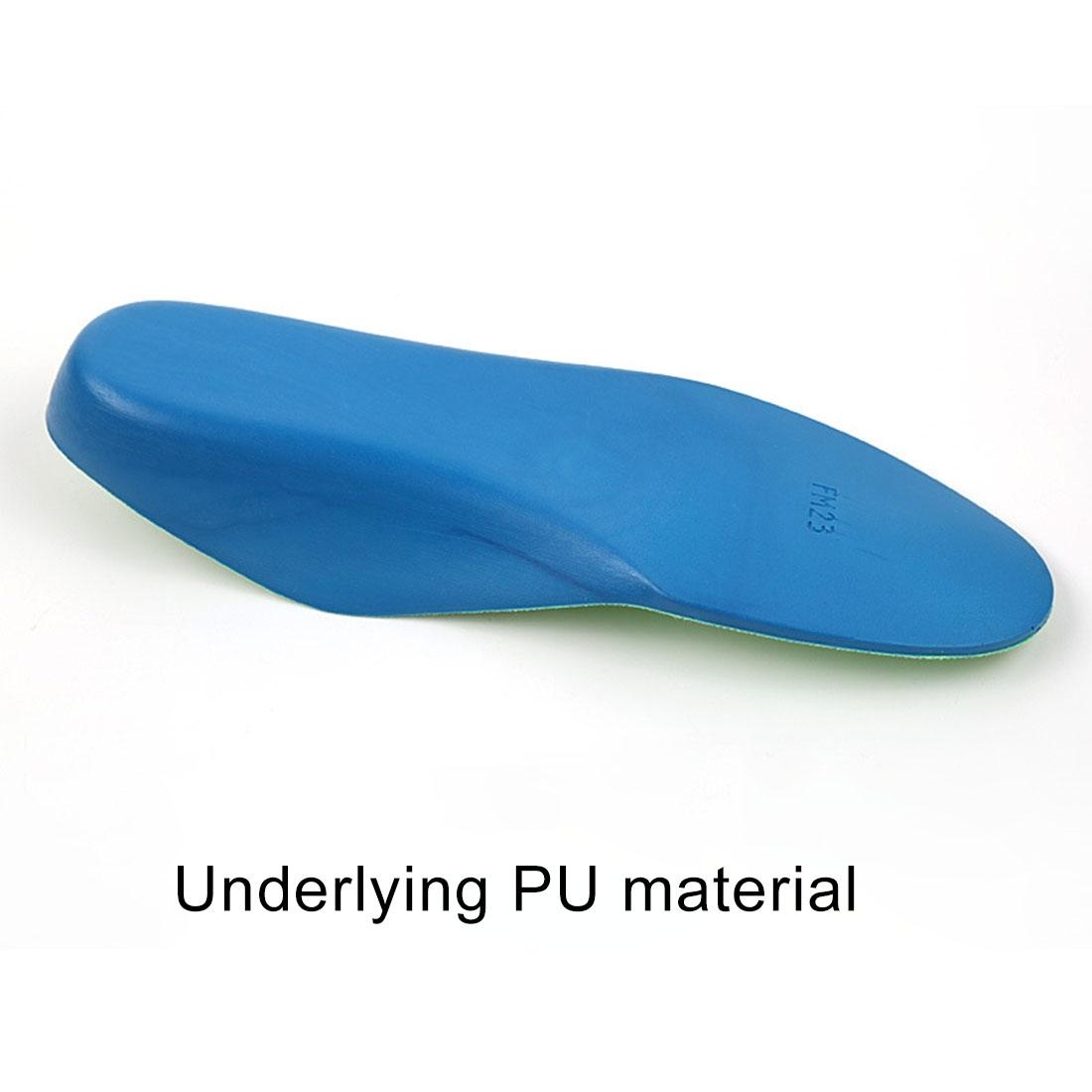 Children PU XO Leg Corrective Insole, Size: 17cm