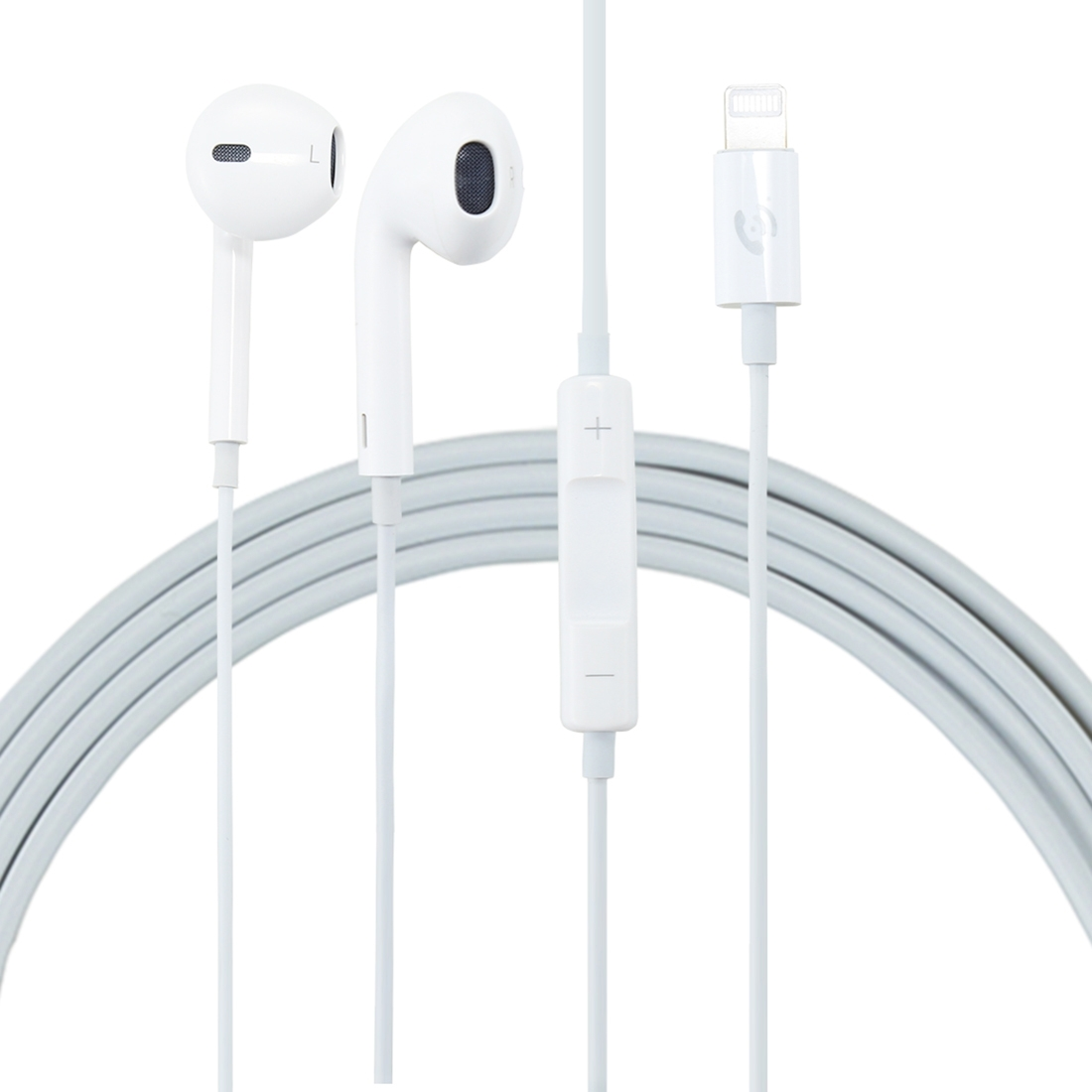 Ml715 1 2m 8 Pin Port Earphones Without Bluetooth Use By Directly Plugged In Port Support Music And Calls For Iphone Xr Iphone Xs Max Xs Iphone 8 Plus 7