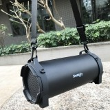 Smalody SL-10 Portable Outdoor High Power Bluetooth V4.0 Stereo Speaker, Support TF Card, AUX, U Disk, For iPhone, Samsung, Huawei, Xiaomi, HTC and Other Smartphones (Black)