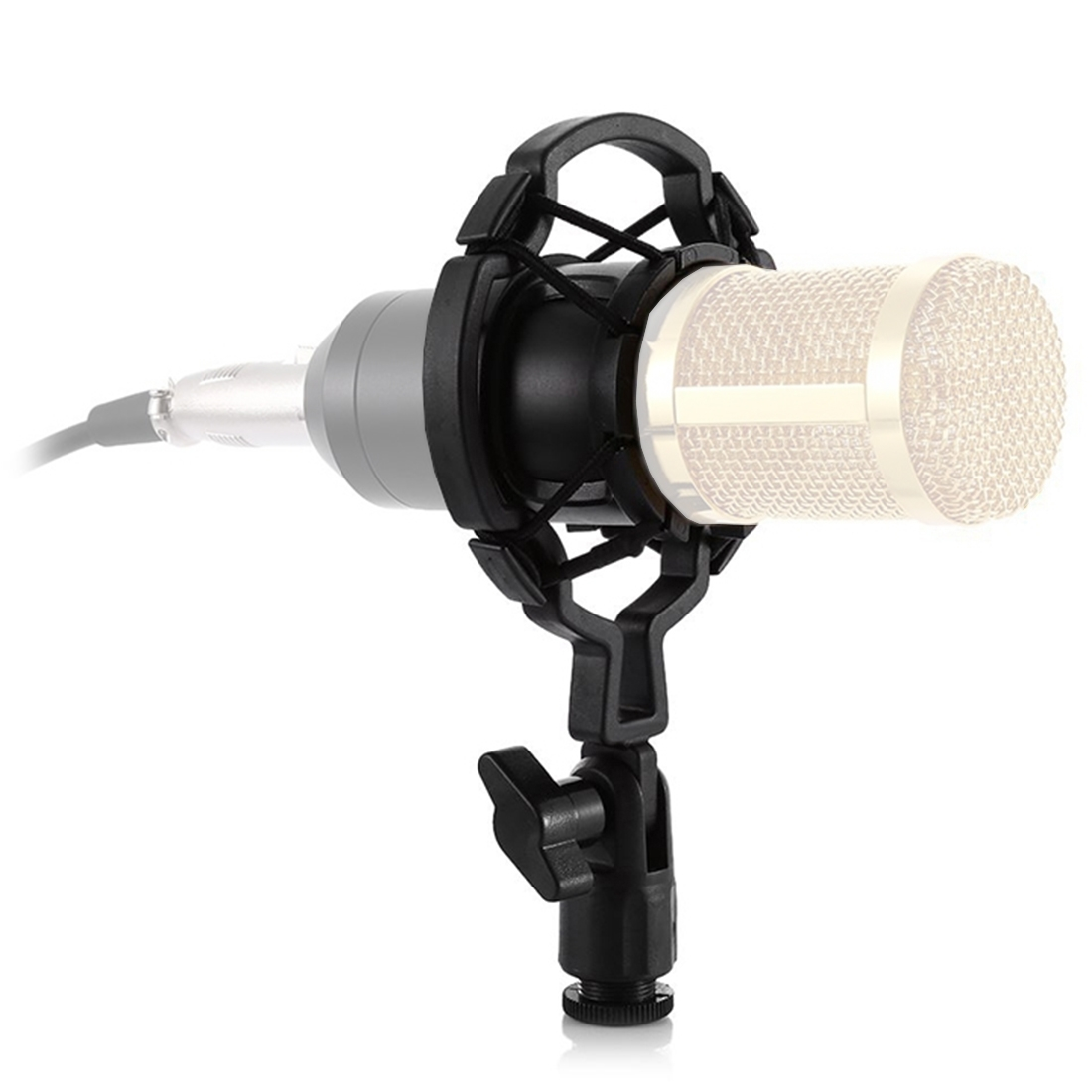 Plastic Microphone Shock Mount Holder Stand, for Studio Recording, Live  Broadcast, Live Show, KTV, etc