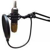 Plastic Microphone Shock Mount Holder Stand, for Studio Recording, Live Broadcast, Live Show, KTV, etc.