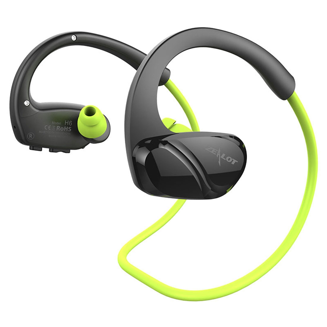 ZEALOT H6 High Quality Stereo HiFi Wireless Neck Sports Bluetooth 4 0  Earphone In-ear Headphone with Microphone, For iPhone & Android Smart  Phones or