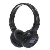 ZEALOT B570 Stereo Wired Wireless Bluetooth Subwoofer Headset with LED Color Screen Design & HD Microphone & FM, For Mobile Phones & Tablets & Laptops, Support 32GB TF Card Maximum (Black)