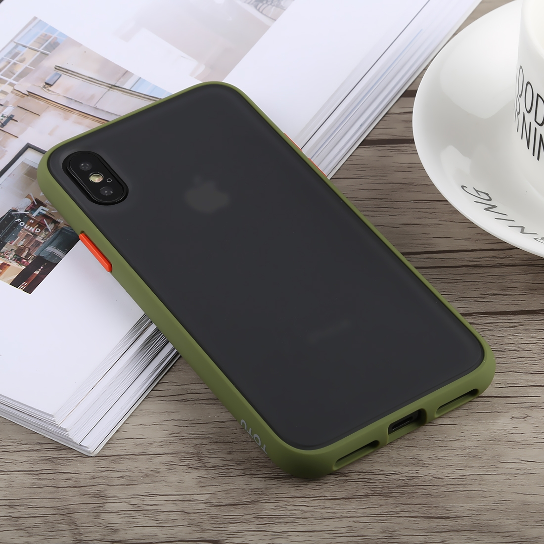 green case iphone xs
