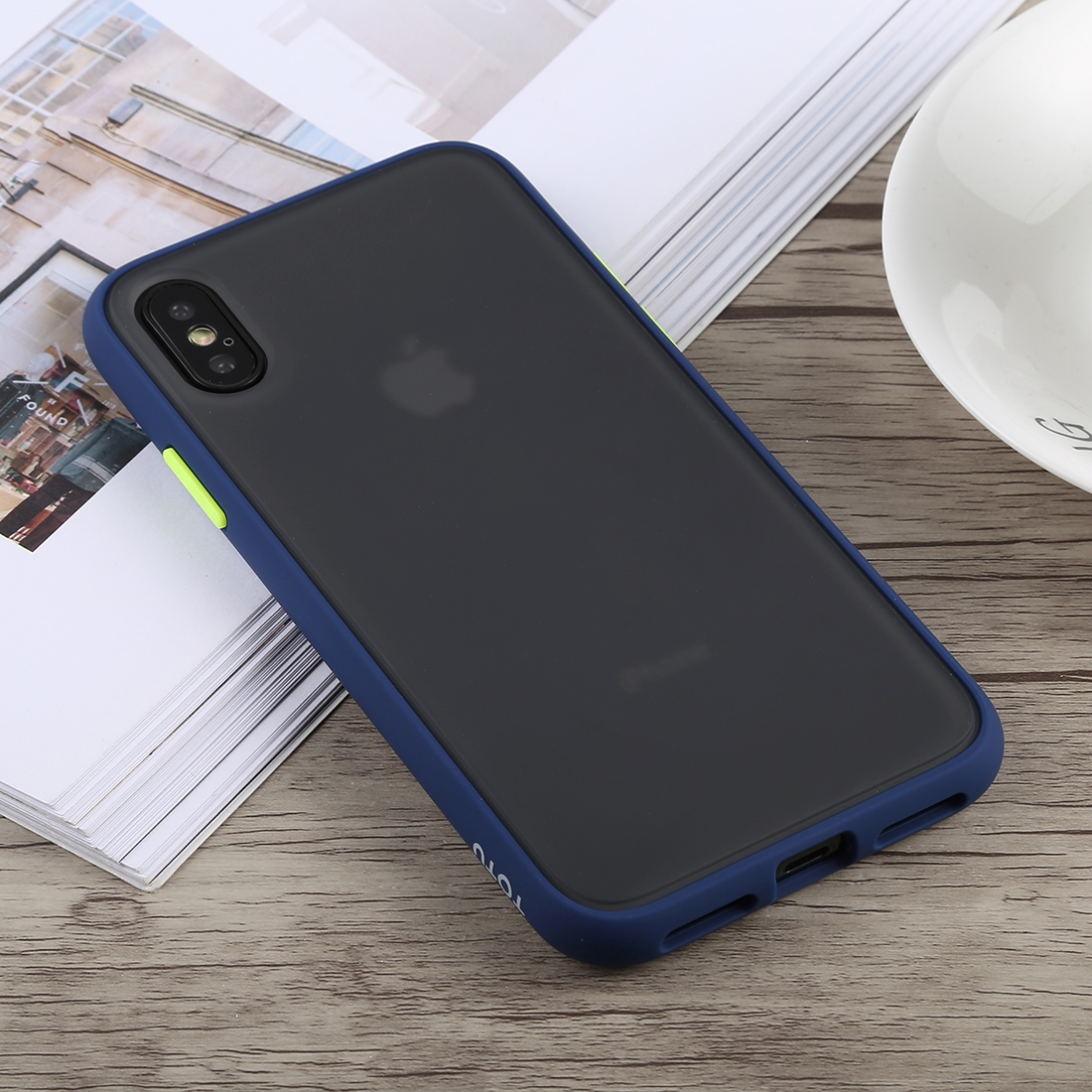 iphone xs shockproof case blue