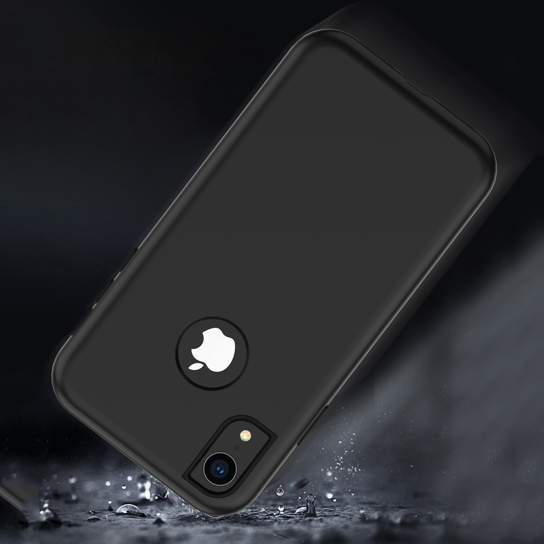 3 in 1 Solid Color Combination Case for iPhone XR