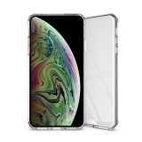 Acrylic + TPU Shockproof Transparent Armor Case for iPhone XS Max (Transparent)