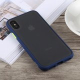 TOTUDESIGN Gingle Series Shockproof TPU+PC Case for iPhone X / XS (Blue)