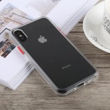 TOTUDESIGN Gingle Series Shockproof TPU+PC Case for iPhone X / XS (Transparent)
