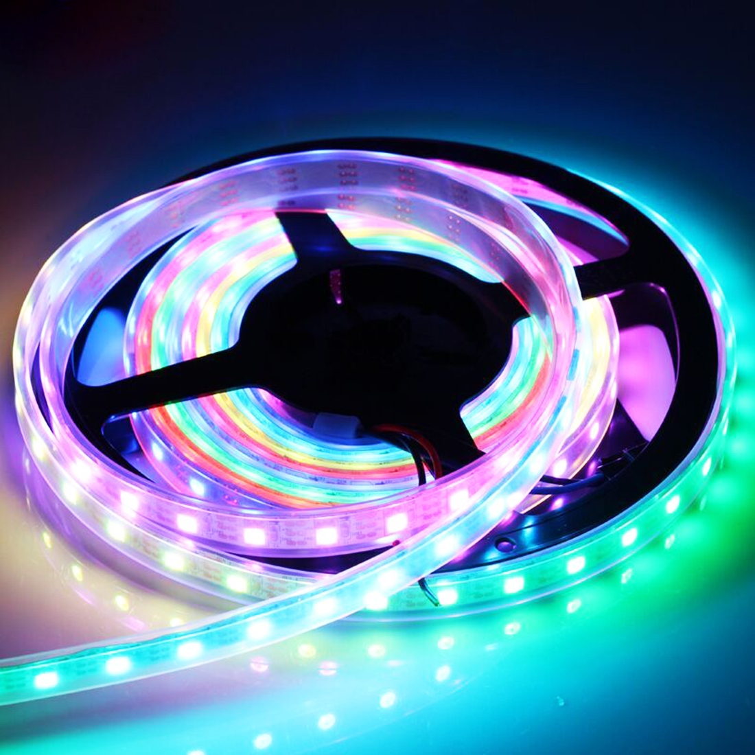 3m IP65 Waterproof Colorful Light Solar Powered LED Rope Strip Light, 90 LEDs SMD 2835 Decoration Fairy Light