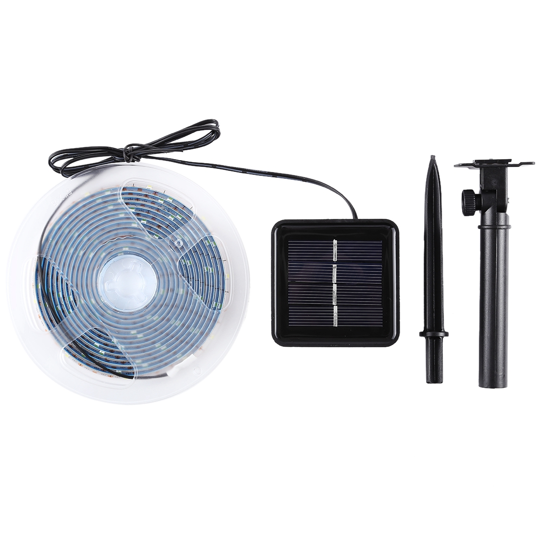 3m IP65 Waterproof White Light Solar Powered LED Rope Strip Light, 90 LEDs SMD 2835 Decoration Fairy Light