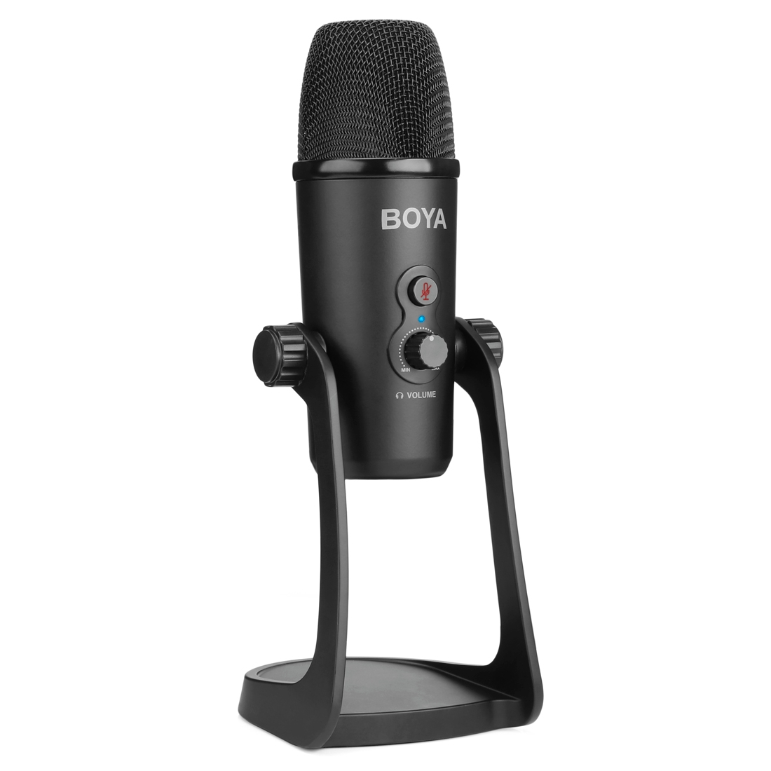 boya by pm700 usb sound recording condenser microphone with holder compatible with pc mac for. Black Bedroom Furniture Sets. Home Design Ideas