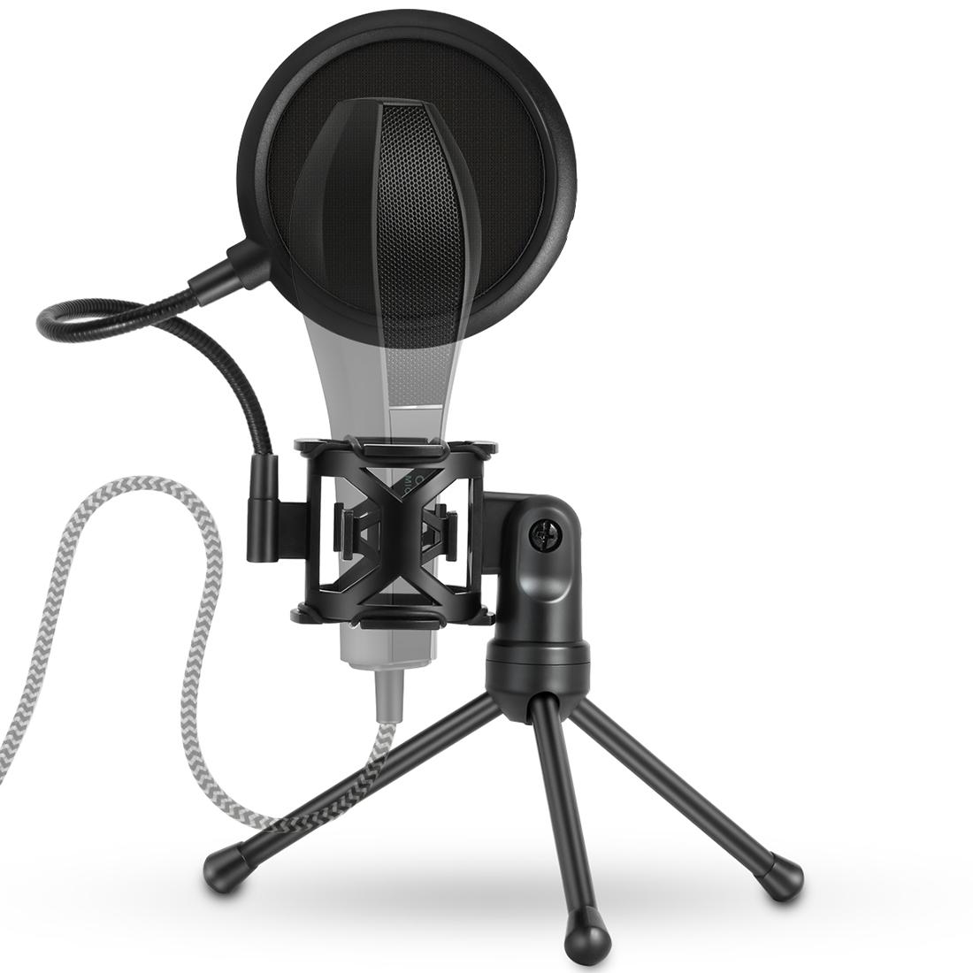 ... Microphone Studio Wind Screen Pop Filter Mic Mask Shield, For. MCP6078B_1.jpg; MCP6078B.jpg; MCP6078B_2.jpg ...