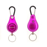 DOBERMAN Key-chain Personal Security Alarm Pull Ring Triggered Anti-attack Safety Emergency Alarm (Magenta)