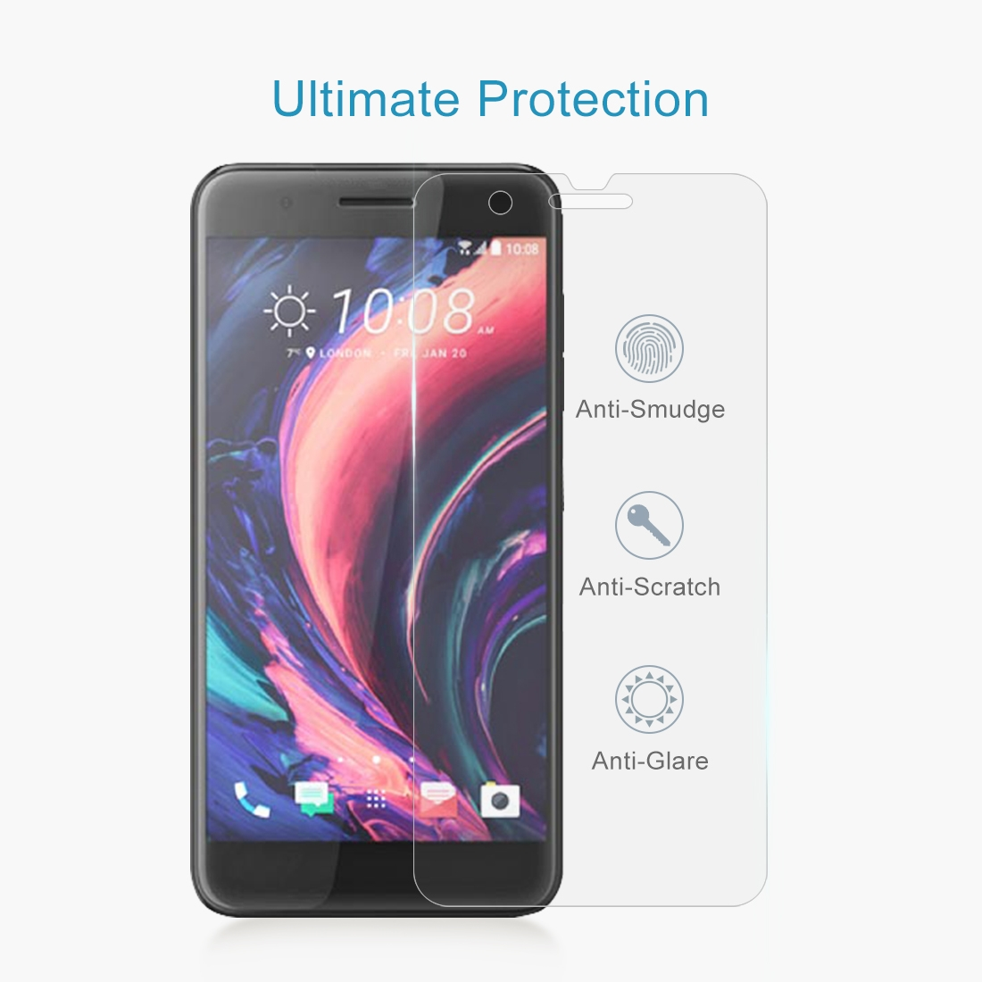 Lopurs 030mm 9h Tempered Glass Surface Hardness 25d Explosion Proof ... - Glass Surface