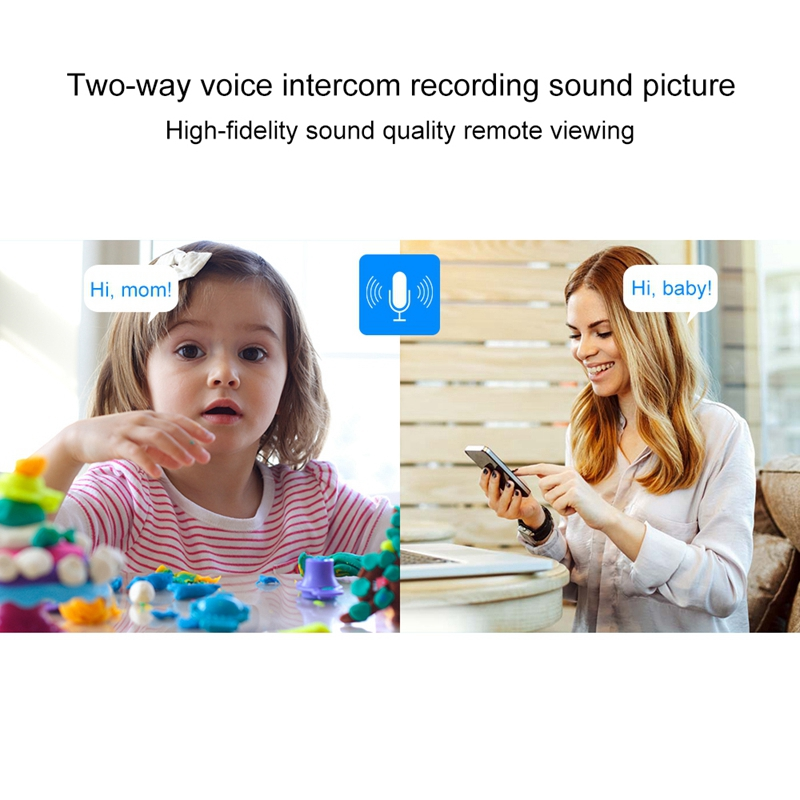 Indoor 4CH HD 1080P Security Wireless IP IR Camera Wifi Kit, Support Night Vision / PIR Detection / Two-Way Audio & Micro SD Card (128GB Max, IR Distance: 9m (White)