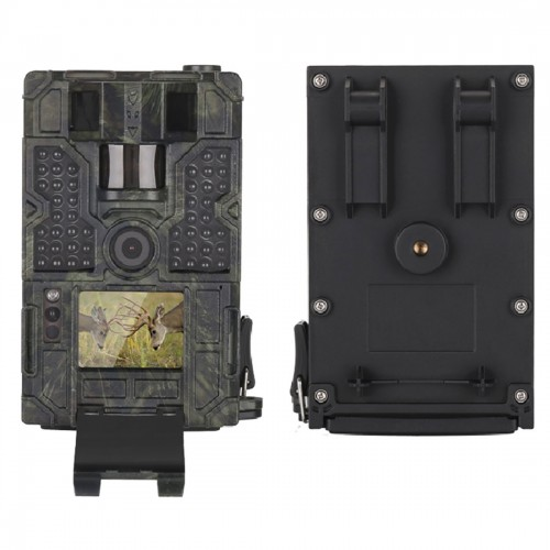 LW16M 130 Degrees Wide Angle Lens IP56 Waterproof 16MP 1080P HD Infrared Hunting Trail Camera with 2.0 inch LCD Display, Support SD Card (32GB Max)