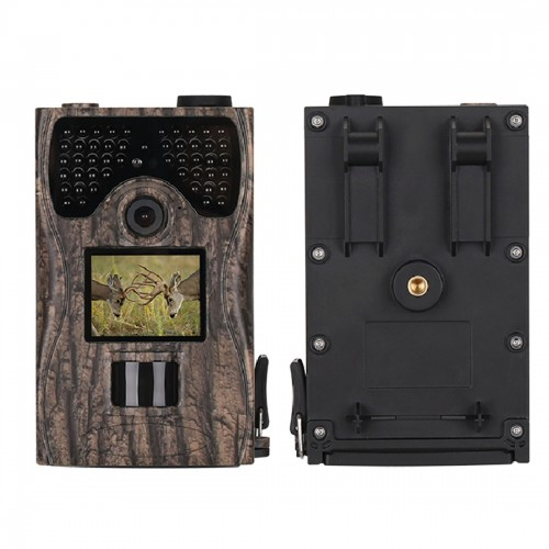 LW12C 120 Degrees Wide Angle Lens IP55 Waterproof 12MP 1080P HD Infrared Hunting Trail Camera with 2.0 inch LCD Display, Support TF Card (32GB Max)