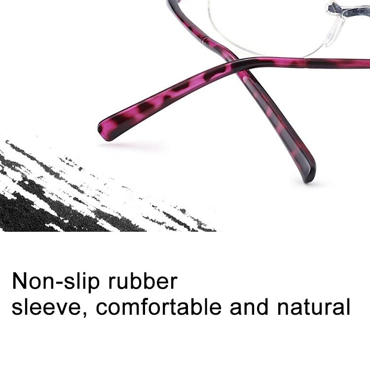 Women Anti Blue-ray Integrated Rimless Presbyopic Glasses, +1.50D