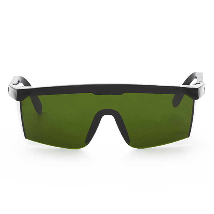 10 PCS Laser Protection Glasses Goggles Working Protective Glasses (Dark Green)