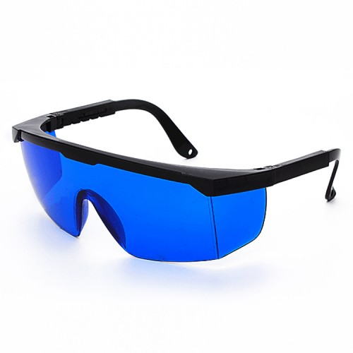 10 PCS Laser Protection Glasses Goggles Working Protective Glasses (Blue)