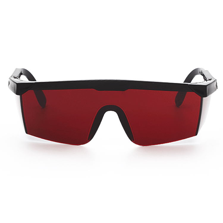 10 PCS Laser Protection Glasses Goggles Working Protective Glasses (Red)