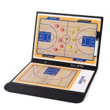 Professional Foldable Basketball Coaching Board Double-sided Coaches Clipboard Basketball Tactical Board