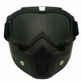 Motorcycle Off-road Helmet Mask Detachable Windproof Goggles Glasses (Grey)