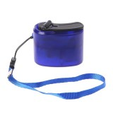 Outdoor Emergency Portable Hand Power Dynamo Hand Crank USB Charging Charger (Blue)