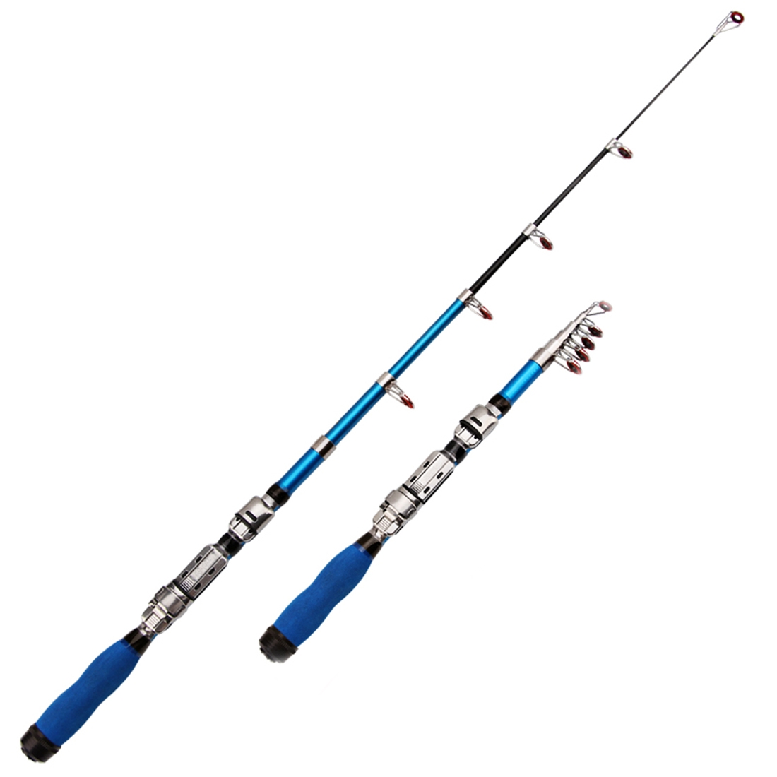 32cm portable telescopic sea fishing rod mini fishing pole extended