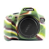 PULUZ Soft Silicone Protective Case for Canon EOS 1300D / 1500D (Camouflage)
