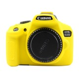 PULUZ Soft Silicone Protective Case for Canon EOS 1300D / 1500D (Yellow)
