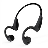 Z8 Bone Conduction Bluetooth V5.0 Sports Stereo Headphone Over the Ear Headset, For iPhone, Samsung, Huawei, Xiaomi, HTC and Other Smart Phones (Black)