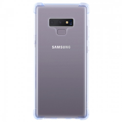 0.75mm Dropproof Transparent TPU Case for Galaxy Note9 (Blue)