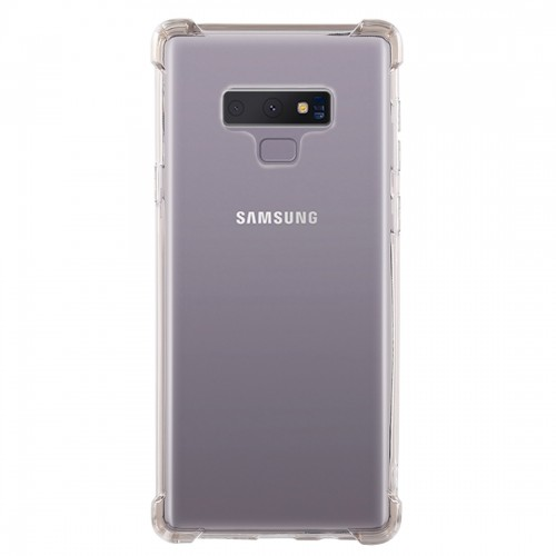 0.75mm Dropproof Transparent TPU Case for Galaxy Note9 (Brown)