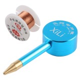 0.01mm Motherboard Fingerprint Jump Fly Wire Box Set Flying Line Pen Spot Welding Fly Wire Repair Tools for iPhone / Samsung / Huawei / Vivo / Xiaomi and Other Smart Phones