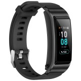 Huawei TalkBand B5 Bluetooth 4.2 Headset Fitness Tracking Sports Smart Bracelet for Android / iOS, 1.13 inch Touch AMOLED 2.5D Screen, Support Fitness Tracker / Pedometer / Sleep Monitor (Black)