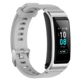 Huawei TalkBand B5 Bluetooth 4.2 Headset Fitness Tracking Sports Smart Bracelet for Android / iOS, 1.13 inch Touch AMOLED 2.5D Screen, Support Fitness Tracker / Pedometer / Sleep Monitor (Grey)
