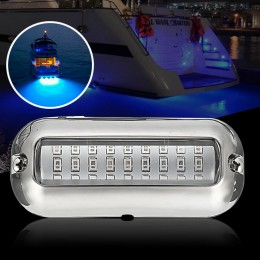 Marine Hardware 50w 27led Red/blue/green Boat Light Underwater Pontoon Marine Transom Light Ip68 Waterproof Stainless Steel Anchor Stern Lamp Products Are Sold Without Limitations Automobiles & Motorcycles